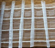 "3"" Rufflette Deep Net Pleat Jubilee Pencil Pleat Translucent Curtain Tape (76mm)"