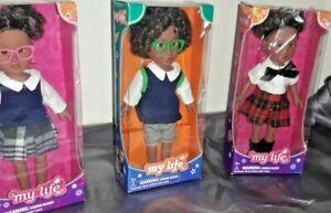 "My Life (Set Of 3)  7"" Dolls"