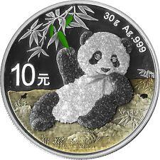 10 Yuan China 2020 Panda Bull&Bear Diamondline 2020