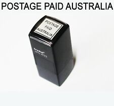 Self-inking Stamp Postage Paid Australia  for business account Australia Post