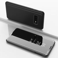 Clear View Standing Cover Für Original Samsung S10e S10 Plus Note 9 Schutzhülle