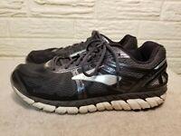 Brooks Beast 16 Men's Running Training Shoes Size 12 Black Silver