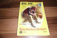 Big Joe's Wild West aventura # 20 -- bajo licencia falsa sospecha // Saxonia 1956