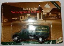 HÜMMER ORIGINAL WERNESGRÜNER BEER CAMION TRUCK GARANT 32 1956 BOX 3 INCHES 1/60