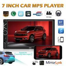 7'' 2 Din Car In-Dash Stereo Video Audio FM Radio BT AUX Head Unit MP5 Player US
