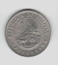 BOLIVIA 1 PESO 1968  FDC KM#192. mrm