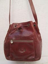 Magnifique  sac seau GEMALLI cuir  TBEG vintage bag