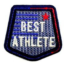 Applikation zum Aufbügeln  Bügelbild 1-072 Best Athlete  +