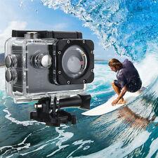 Waterproof 4K Wifi Sport Action Camera 2.0 inch DV 1080P Ultra HD Cam DVR SILVER