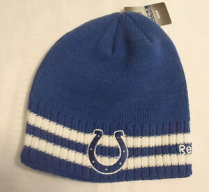 Onfield Reebok NFL Indianapolis Colts Winter Hat Cap NWT