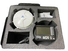 Trimble Ms990 Cb 430 Gps Grade Control Receiver 55760 00 57678 06 Cable In Case
