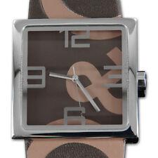 DOLCE&GABBANA Armbanduhr Uhr D&G Markenuhr ANDY Herren Damen Edelstahl DW0038