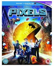 Pixels Blu-ray  New & Sealed 5051124572190