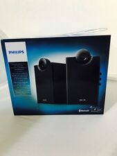Philips SPA4270BT/37 Bluetooth Multimedia Speakers 2.0 (Black) Brand New Sealed