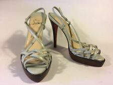 Christian Louboutin 100% Leather Very High (greater than 4.5\) Women's Heels""