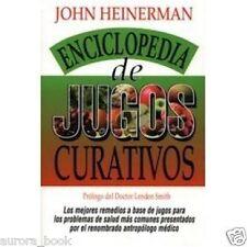 Enciclopedia De Jugos Curativos John Heinerman WS3619