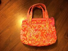 New Vera Bradley Pink & White Makeup or Handbag
