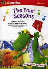 New Sealed Baby Genius Four Seasons  DVD and Free Music Download