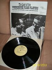 RALPH SUTTON & JAY McSHANN The Last of the Whorehouse Piano Players Vol. 2 NR/MT