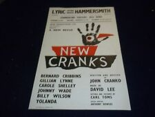 1960 NEW CRANKS LYRIC HAMMERSMITH THEATER POSTER - BERNARD CRIBBINS - P 127