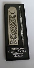 MASONIC SQUARE AND COMPASS PEN AND BOOKMARK SET IN PRESENTATION BOX