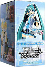 Weiss Schwarz Hatsune Miku Project Diva F 2nd Sealed Booster Box English WS