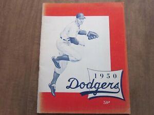 1950 Brooklyn Dodgers Team Issued Baseball Yearbook