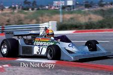 Ingo Hoffman COPERSUCAR F1 FRANCESE GP 1976 FOTOGRAFIA