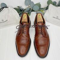 Allen Edmonds Black Hills Lace Up Plain Toe Chili Leather Oxford shoes Size 9D