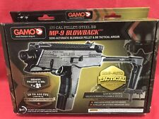 New In Box Gamo MP-9 Blowback Airgun .177 Cal Steel BB