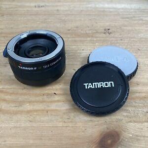 Tamron F 2X MX-AF BBAR MC7 Minolta/Sony A with caps