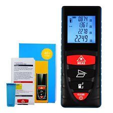 Digitale LCD Schermo Laser Distanza Metro Telemetro Mirino Misurazione Zona