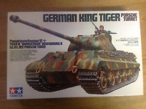 Tamiya 35169 German King Tiger Porsche Turret 1/35 Scale