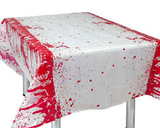 TOVAGLIA INSANGUINATA IN PVC CM 136 X 265 Halloween Con Sangue Blood 210 16174