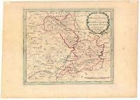Hessen - Hersfeld - Rothenburg - Kupferkarte Reilly 1791