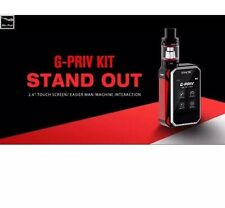 "SMOK G-PRIV "" 220W "" TOUCH SCREEN TFV8  Full kit With Tank Red Black Colour Only"