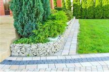 More details for garden edge gabion raised planter bed rock pot basket galvanised steel uk