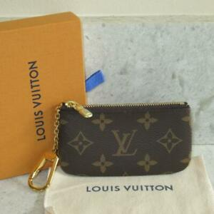 2020 BOX Used 1x Louis Vuitton Monogram Canvas Key Cle Coin Pouch Wallet