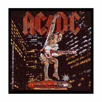 AC/DC Stiff Upper Lip Woven Patch Sew On Official Band Merch Angus