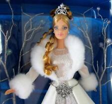 Winter Fantasy Barbie Doll 1st doll n Holiday Visions Special Edition 2003 MINT