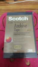 Scotch TM T-120 Professional Grade Archieve Tape - Stereo Hifi (VHS,1994)