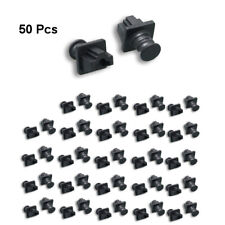 50pc RJ45 Dust Cover Protector Anti-Dust Dirt CAT5e/6/6A Ethernet Network Jack