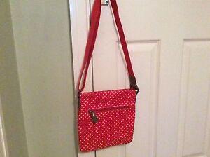 Ladies PVC Spotty Shoulder Bag