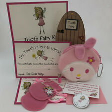 Tooth Fairy For Girls ~ Fairy Certificate, Badge, Door, Magical Dust
