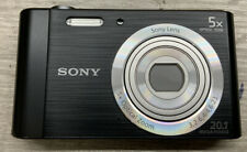 ✅ Sony Cyber-shot DSC-W800 20.1MP  5x Optical Zoom - Black‼️NO BOX‼️