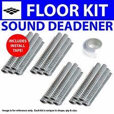 Heat & Sound Deadener Camaro 1970 - 1981 Floor Kit + Seam Tape 27243Cm2 zirgo
