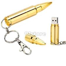 64GB Metal Bullet USB 2.0 Flash Pen drive Memory Stick Thumb Storage U Disk SR1G