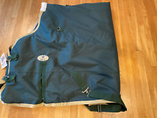 """New Big D Sussex Turnout Blanket  68"""" green"""