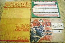 1936 WHEATIES PREMIUM ~ JACK ARMSTRONG ~ BIG TEN FOOTBALL GAME