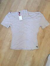 GSUS Sindustries Ladies T Shirt Beige Brand New RRP £29.99 Size Medium